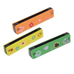 Armonica de madera en varios colores